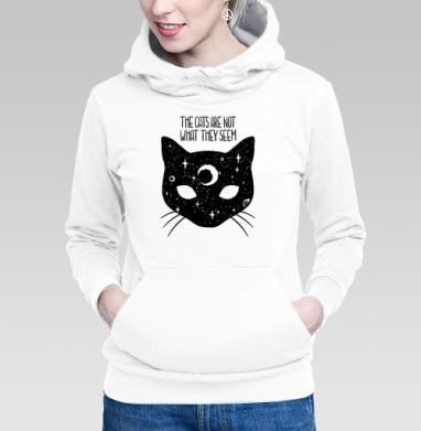 Коты не то, чем кажутся - Купить женскую толстовку