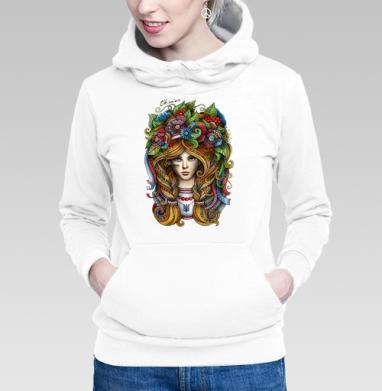 Толстовка Женская белая - Я украинка
