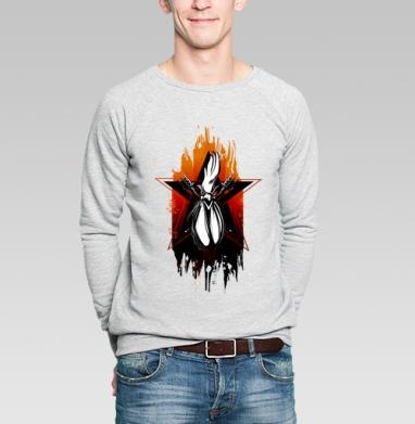 Горячий петушок - Купить мужские свитшоты с птицами в Москве, цена мужских свитшотов с птицами  с прикольными принтами - магазин дизайнерской одежды MaryJane