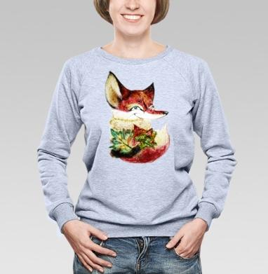Озорная лисичка Лана - Купить детские свитшоты с персонажами в Москве, цена детских свитшотов с персонажами  с прикольными принтами - магазин дизайнерской одежды MaryJane
