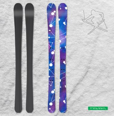 Твори свой космос - Наклейки на лыжи