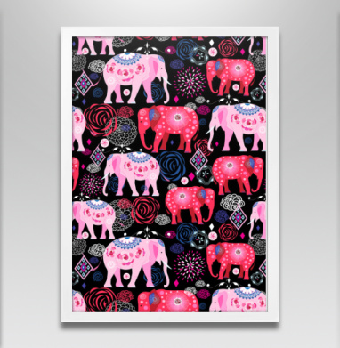 Орнаментальные слоны - Постеры, символ, Популярные