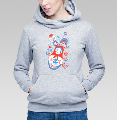Весёлые матрёшки - Купить детские толстовки с узорами в Москве, цена детских  с узорами  с прикольными принтами - магазин дизайнерской одежды MaryJane