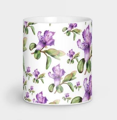 Багульник, ботаническая иллюстрация - иллюстация, Новинки
