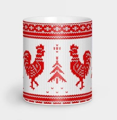 Свитер зимний - Кружки с логотипом