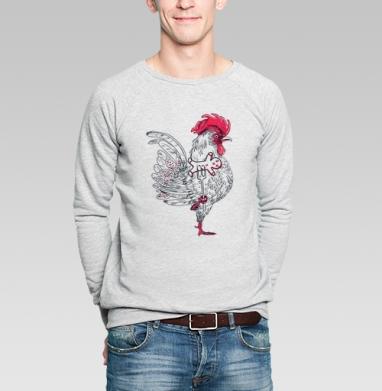Кто еще не нарисовал петуха - Купить мужские свитшоты Новый год в Москве, цена мужских свитшотов новогодних  с прикольными принтами - магазин дизайнерской одежды MaryJane