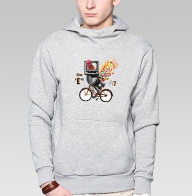Велоретропетух - Толстовки под заказ