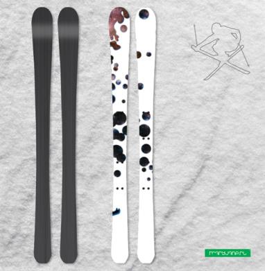 Весь мир-космос - Наклейки на лыжи