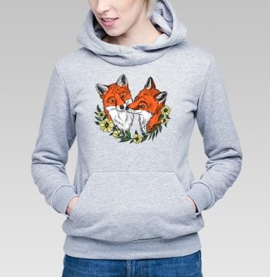 Любовь лисы - Купить детские толстовки с лисой в Москве, цена детских толстовок с лисой  с прикольными принтами - магазин дизайнерской одежды MaryJane