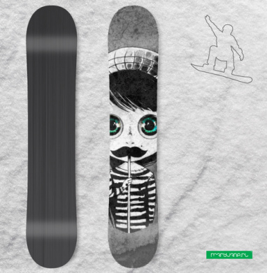 Носи уссы - Виниловые наклейки на сноуборд купить с доставкой. Воронеж