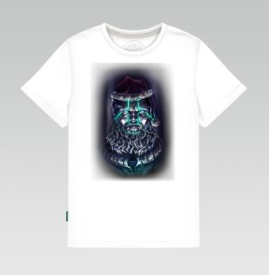 Цифровой Санта, Детская футболка белая