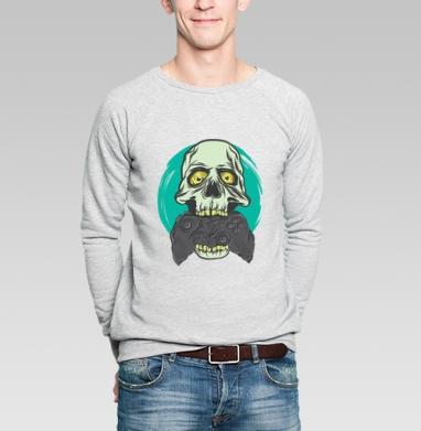 Геймер - Купить мужские свитшоты с черепом в Москве, цена мужских  с черепом  с прикольными принтами - магазин дизайнерской одежды MaryJane