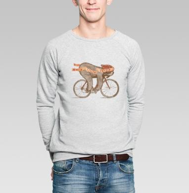 ФИНИШ - Купить мужские свитшоты с велосипедом в Москве, цена мужских  с велосипедом  с прикольными принтами - магазин дизайнерской одежды MaryJane