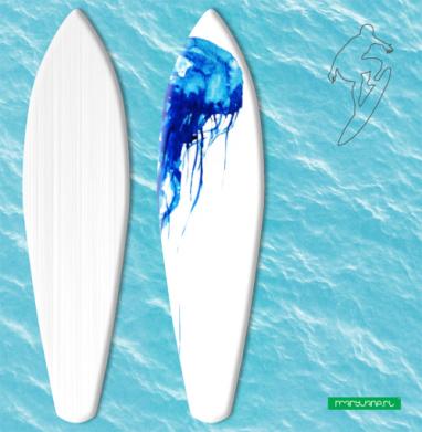 Медуза - Наклейки на серф