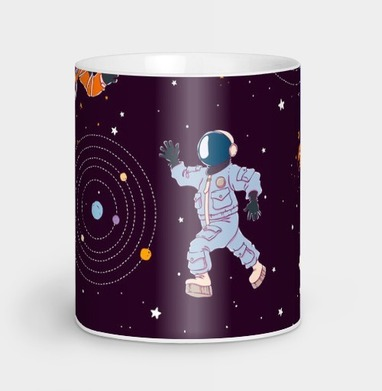 Космическая одиссея - Кружки с логотипом
