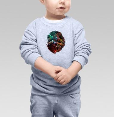 Пробуждение разума, Cвитшот Детский серый меланж