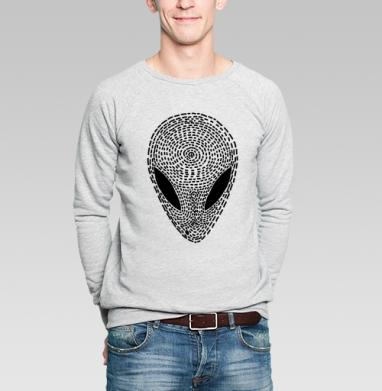 УФО БЛЭК - Купить мужские свитшоты с космосом в Москве, цена мужских свитшотов с космосом  с прикольными принтами - магазин дизайнерской одежды MaryJane