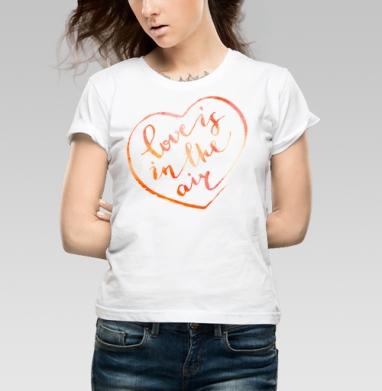 В воздухе любовь - Купить детские футболки романтика в Москве, цена детских футболок романтических  с прикольными принтами - магазин дизайнерской одежды MaryJane