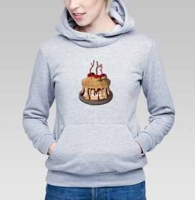 Яблочный пирог  - Купить детские толстовки с фруктами в Москве, цена детских толстовок с фруктами  с прикольными принтами - магазин дизайнерской одежды MaryJane