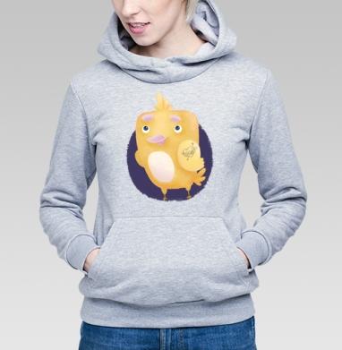 Влюблённый цыплёнок - Купить детские толстовки с любовью в Москве, цена детских толстовок с любовью  с прикольными принтами - магазин дизайнерской одежды MaryJane