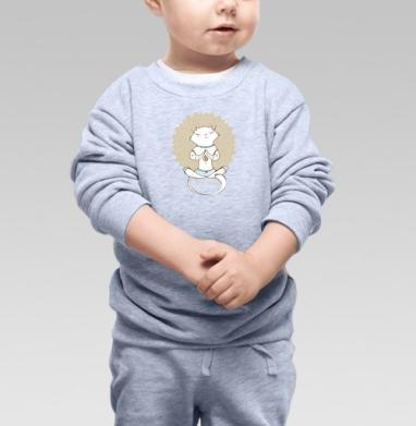 Йога котэ  - Свитшоты детские