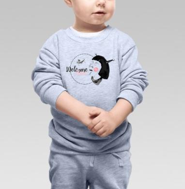 Прилетай - Детские футболки с прикольными надписями