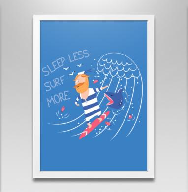 Серфер - Постеры, велосипед, Популярные