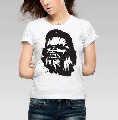 Футболка женская белая - Che wbacca