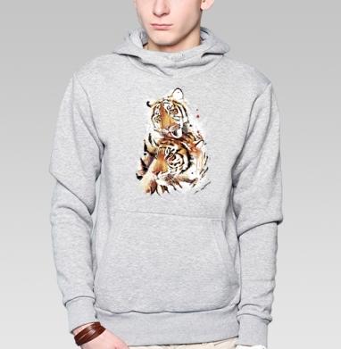 Влюбленные тигры - Толстовки под заказ