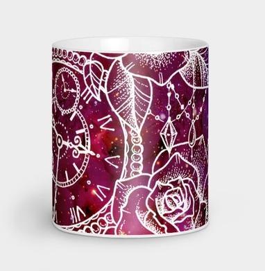 Пространство и время - Кружки с логотипом