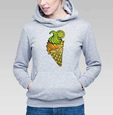 Мороженное - Купить детские толстовки с фруктами в Москве, цена детских толстовок с фруктами  с прикольными принтами - магазин дизайнерской одежды MaryJane