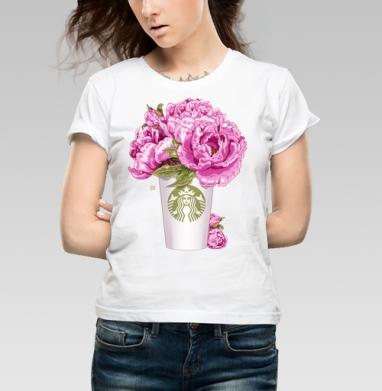Кофе и цветы - Магазин женских футболок. Новинки.