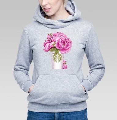 Кофе и цветы - Купить детские толстовки Текстуры в Москве, цена детских толстовок Текстуры с прикольными принтами - магазин дизайнерской одежды MaryJane