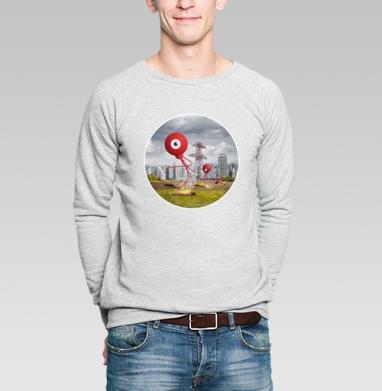 ВОЙНА МИРОВ - Купить мужские свитшоты военные в Москве, цена мужских свитшотов военных с прикольными принтами - магазин дизайнерской одежды MaryJane