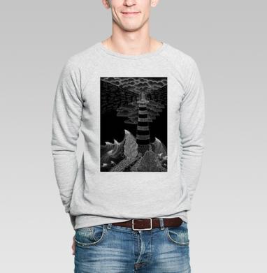 Маяк бури - Купить мужские свитшоты с пиратом в Москве, цена мужских свитшотов пиратских с прикольными принтами - магазин дизайнерской одежды MaryJane