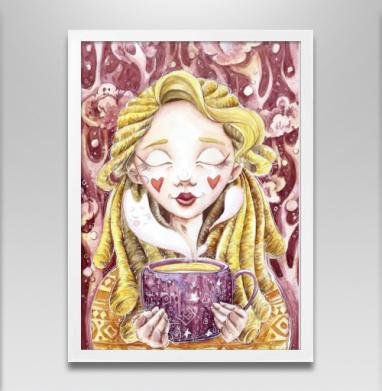 Чашка чая в лесу - Постеры, усы, Популярные