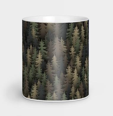 Лесной камуфляж, Кружка