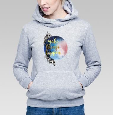 Мотивация - Купить детские толстовки с акварелью в Москве, цена детских толстовок с акварелью  с прикольными принтами - магазин дизайнерской одежды MaryJane