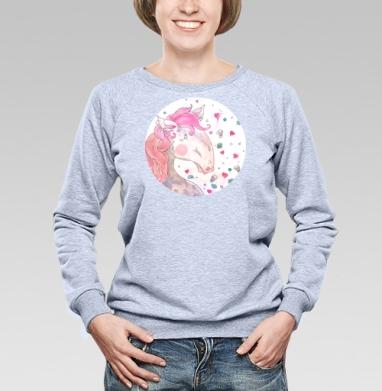 Розовый пони - Свитшоты женские