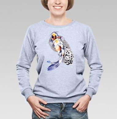 Рыбка кои - Свитшоты женские. Новинки