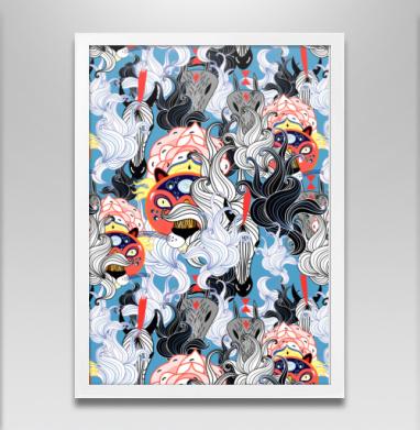Дикие звери - Постеры, узор, Популярные