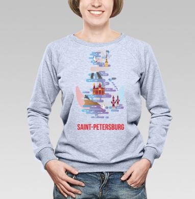Санкт-Петербург - Свитшоты женские. Новинки