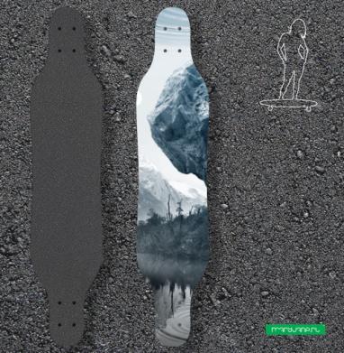 Будущее  - Наклейки на лонгборд