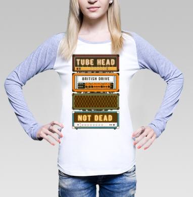 Ламповая голова - Футболки с длинным рукавом женские