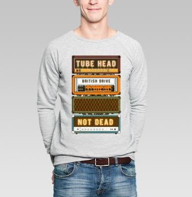 Ламповая голова - Купить мужские свитшоты музыка в Москве, цена мужских свитшотов музыкальных  с прикольными принтами - магазин дизайнерской одежды MaryJane