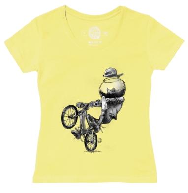 Футболка женская желтая, желтый - Каталог женских товаров и принтов.