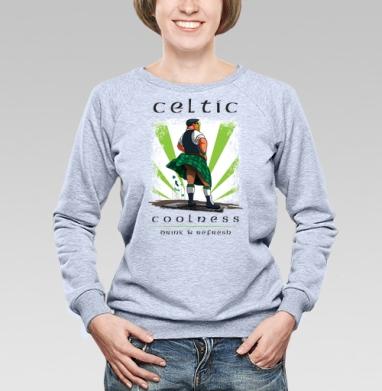 Кельтская свежесть - Купить женские свитшоты с приколами в Москве, цена женских свитшотов с приколами с прикольными принтами - магазин дизайнерской одежды MaryJane