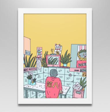 Азиатская закусочная - Купить плакаты