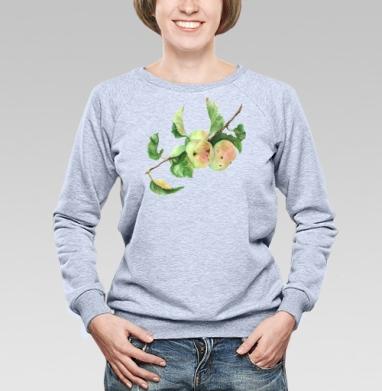Ветка с яблоками - Купить детские свитшоты с фруктами в Москве, цена детских свитшотов с фруктами  с прикольными принтами - магазин дизайнерской одежды MaryJane