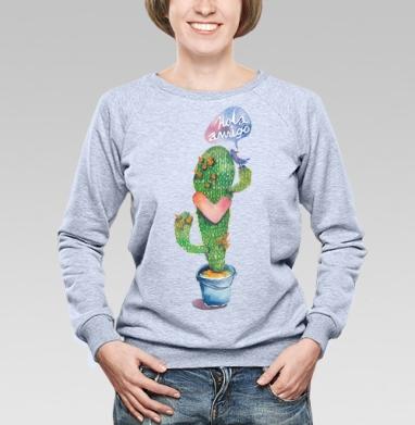 Вязаный кактус - Купить детские свитшоты с надписями в Москве, цена детских свитшотов с надписями  с прикольными принтами - магазин дизайнерской одежды MaryJane